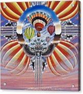 Fiesta De Colores Acrylic Print