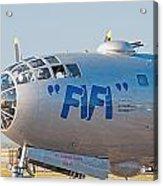 Fifi - Nose Art Acrylic Print