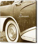 Fifties Buick Acrylic Print