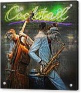 Fifties Cocktail Jazz Acrylic Print