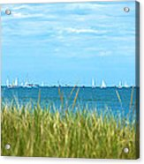 Figawi Sailboat Race Acrylic Print by Diane Diederich