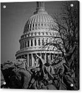Fight In Washington Acrylic Print