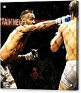 Fight Night No. 19 Acrylic Print by Shawn Lyte