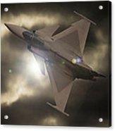 Fighter Jet Acrylic Print