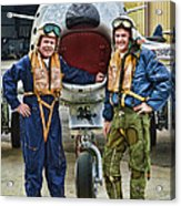 Fighter Pilots Acrylic Print
