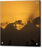 Fighting Clouds Acrylic Print