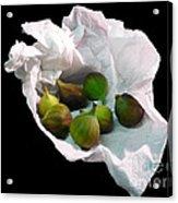 Figs In A Napkin Acrylic Print