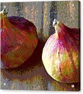 Figs Still Life Pop Art Acrylic Print