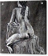 Figure Drawing 2 Acrylic Print