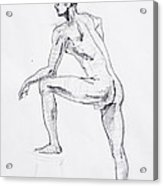 Figure Drawing Study II Acrylic Print