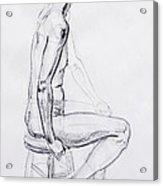Figure Drawing Study V Acrylic Print