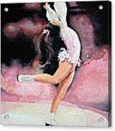 Figure Skater 20 Acrylic Print