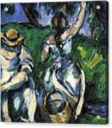 Figures By Cezanne Acrylic Print