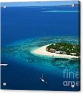 Fiji - South Pacific Paradise Acrylic Print by Lars Ruecker