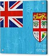 Fiji Flag Acrylic Print
