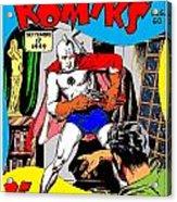 Filipino Action Comics Acrylic Print