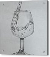 Fill My Glass Acrylic Print