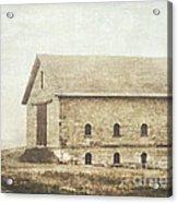 Filley Stone Barn Acrylic Print