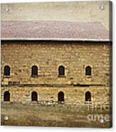 Filley Stone Barn South Side Acrylic Print
