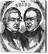 Fillmore Campaign, 1856 Acrylic Print