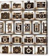Film Camera Proofs Acrylic Print