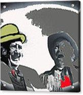 Film Homage Andy Devine  Chill Wills Old Tucson Arizona 1971-2009  Acrylic Print