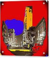 Film Homage Arthur Rothstein Theater Row  Majestic Melba  Palace Theaters Dallas Texas 1942-2008 Acrylic Print