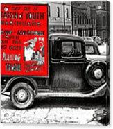 Film Homage Assassin Of Youth 1937 John Vachon Omaha Nebraska 1937-2010  Dwain Espair Acrylic Print