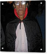 Film Homage Bela Lugosi Dracula 1931 Halloween Party Casa Grande Arizona 2005 Acrylic Print