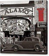 Film Homage Bela Lugosi Shadow Of Chinatown 1936 John Vachon Fsa Alamo Theater Washington D.c. 2010 Acrylic Print