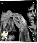 Film Homage Collage Brothers Quay Street Of Crocodiles Black Girl Doll Tucson Arizona 1970-2011 Acrylic Print