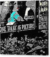 Film Homage Dolores Costello George O'brien Noah's Ark 1928 Ralph Steiner 1929-2008 Acrylic Print