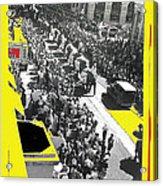 Film Homage Fox Tucson Theater Marquee Cole Bros. Circus Elephant Parade 1936-2008 Acrylic Print