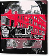 Film Homage Funeral In Berlin 1966 Orpheum Winter Carnival Parade Collage St. Paul Mn 1967-2008  Acrylic Print