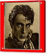 Film Homage Gary Cooper 1929-2009  Collage Color Added Acrylic Print