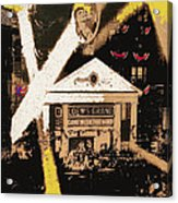 Film Homage Gone With The Wind Premiere Collage Loew's Grand Atlanta Georgia 1939-2008 Acrylic Print