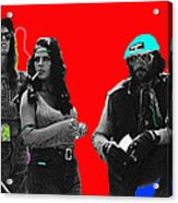 Film Homage Joe Namath C.c. And Company Golder Dam Near Tucson Arizona 1970-2009 Acrylic Print