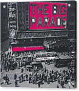 Film Homage John Gilbert King Vidor The Big Parade 1925 Color Added 2010 Acrylic Print