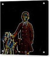 Film Homage John Mills Rocking Horse Winner 1949 Tucson Arizona Circa 1890-2008 Acrylic Print