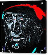 Film Homage Kirk Douglas And Vincent Minnelli Lust For Life 1956 Old Tucson Arizona 1971 Acrylic Print