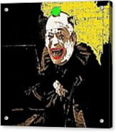 Film Homage Lon Chaney He Who Gets Slapped 1924 Color Added 2008 Acrylic Print