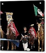 Film Homage Ride Vaquero 1953  2 Hispanic Riders  Rodeo Parade Tucson  Az 2002-2008 Acrylic Print