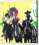 Film Homage The Gay Desperado 1936 Chris-pin Martin  Nino Martini Saguaro  Nat'l Monument Tucson Acrylic Print