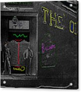 Film Homage The Quiet Man 1952 The Old Corner Saloon  Red Light District Tucson Arizona C.1880-2008  Acrylic Print