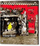 Film Homage The Revenge Of Tarzan Criterion Theater Washington Dc. 1920-2010 Acrylic Print