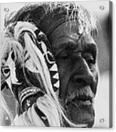 Film Homage The Yaqui 1916 Pascola Dancer New Pascua Arizona 1969-2008   Acrylic Print
