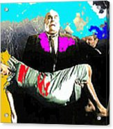 Film Homage Tor Johnson Ed Wood Plan Nine From Outer Space 1959 Publicity Photo Color Added 2012 Acrylic Print