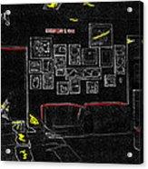 Film Homage Tora Tora Tora 1970 Uss Arizona Memorial U Of A 1985-2008 Acrylic Print