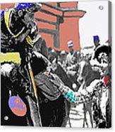 Film Homage William Holden Jean Arthur Arizona 1940 Stage Depot Old Tucson Arizona 1940-2008 Acrylic Print
