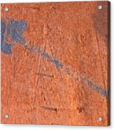 Film Noir Dennis Hopper Linda Manz Out Of The Blue 1980 Casa Grande Arizona 2004 Acrylic Print